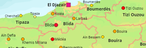 Algeria Major Cities