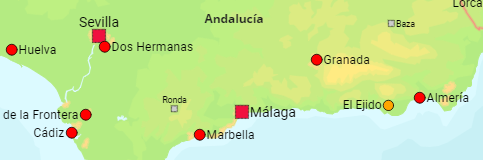 Spain Major Cities