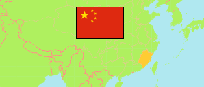 Fujian (China) Map