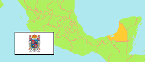 Campeche (Mexico) Map