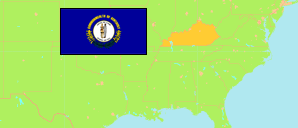 Kentucky (USA) Map