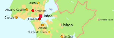 Portugal Urban Areas