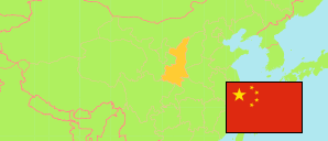 Shănxī / Shaanxi (China) Map