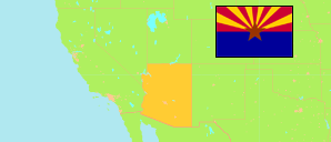 Arizona (USA) Map