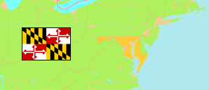Maryland (USA) Map